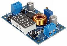 DC-DC Spannungsregler einstellbar, Abwärtswandler 36V / 5A mit LED DVM Voltmeter