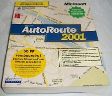 AUTOROUTE 2001. Europe.   Windows 95/98/NT 4.0 Workstation.