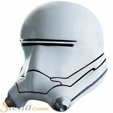 Adult Official Star Wars Flame Trooper 2 Piece Helmet Mask Fancy Dress Accessory