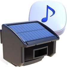 Htzsafe Solar Kabellose Haussicherheit Alarmanlage mit Bewegungsmelder 1/4 Mile