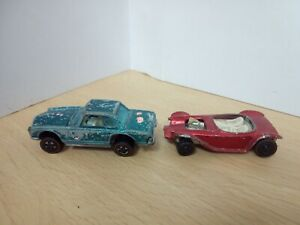 Y646-HOT WHEELS REDLINE LOT OF TWO VEHICLES
