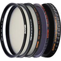 Zomei 82mm Filter UV Filter CPL Filter ND Filter HD Filter for Camera DSLR lens