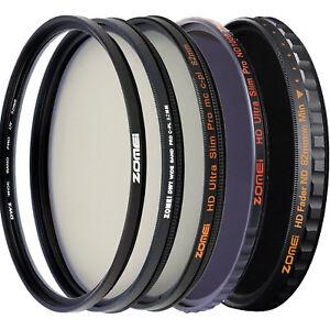 Zomei Pro Camera Lens Filter UV Filter CPL Filter ND Filter HD Filter for Camera