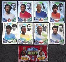 Match Attax England 2010 - 8 International Master Football Trading Cards