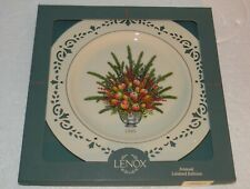 """Lenox Colonial Bouquet Plate Virginia 1995 The First Colony 10.75"""" dia D830"""