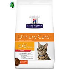 Hill's C/D URINARY STRESS 4 kg Prescription Diet Alimento Gatti gusto Pollo
