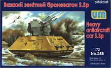Heavy antiaircraft car S.Sp << UM #258, 1/72 scale