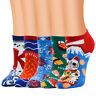 Winter&Autumn Women Cute Horizontal Multi-Color Pattern Lady Socks Tube Socks