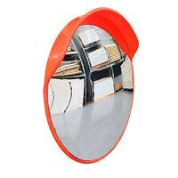 800mm Round Traffic Blind Spot Convex Mirror Security Driveway Large w/Bracket