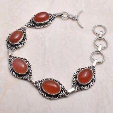 19 Gms Ab 71431 Carnelian Ethnic Handmade Bracelet Jewelry