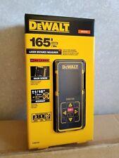 DEWALT DW0165  Laser Distance Measurer, 165FT, color LCD display