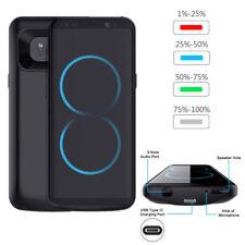 5000mAh Akku Hülle Power Case Zusatzakku External Batterie für Samsung Galaxy S8