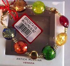 BRANDNEU Antica Murrina Frida Murano Handarbeit Glass Perlen Armband Geschenk Box
