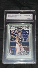2013 Topps Gypsy Queen #33 Rob Brantly Rookie Graded Baseball Card