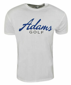 #BRAND NEW# Adams golf T-shirt Short sleeves - White/Blue - L, XL, XXL