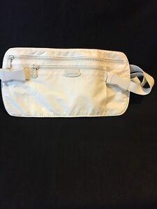 Sampsonite Travel Money Belt Fanny Pack Off White Hidden Money Belt