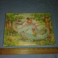 VTG  48 PIECE JIGSAW PUZZLE HUFF N PUFF THE FRIENDLY DRAGON 1973 COMPLETE