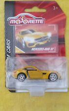 Majorette  MERCEDES -AMG GT YELLOW Brand New 1.64 scale