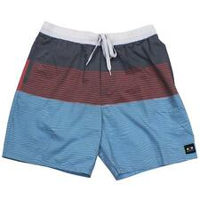 Oakley Slicker 2.0 Sky Blue Grey 38 XXL Mens Casual Cotton Shorts Walkshorts