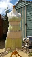 beautiful silk Whistles dress, vintage style 1920s/30s style