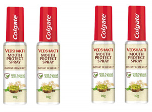 Colgate Vedshakti Mouth Protect Spray 10gm x 4 (Pack of 4)