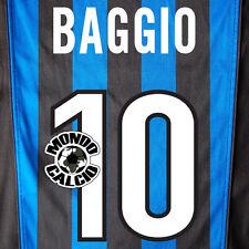 BAGGIO PERSONALIZZAZIONE INTER PRINT NOME NUMERO HOME KIT NAME SET 1998-99