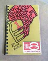 BIG 8 EIGHT CONFERENCE GUIDE YEARBOOK - FOOTBALL - 1971