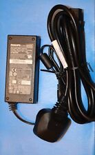 GENUINE PHILIPS  ADPC1936 19V 2A Monitor Adaptor/Charger WITH Power Lead/Cord