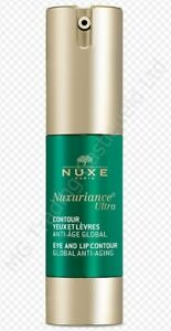 Nuxe Global Anti-Aging Eye & Lip Contour 15ml - New & Unused