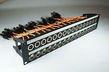 XLR Patchbay Neutrick Panel Connectors