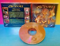 The Scroll  - PC Game Tested - Mint Disc Rare Supernatural Interactive Drama