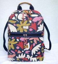 NWT Fossil Blake Floral Large Backpack Bag