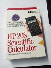 NEW - HP 20S CALCULATOR 20 S HP20 S HP20S - NEW IN BOX - NIB NOS