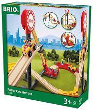 Brio ~ ROLLER COASTER SET ~ Creative Wooden Railway Set (33730)