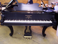 Steinway Grand - 1906 Louis Xv Model A in Ebony Satin - Perfect Restoration