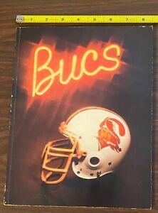 orig Vintage HTF 1979 NFL TAMPA BAY BUCCANEERS BUCS YEARBOOK Pre Tom Brady EX