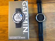 Garmin Forerunner 645 Music, GPS Running Watch with Pay Contactless Black