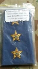 SAPS - SOUTH AFRICAN POLICE SERVICE CAPTAINS CLOTH SHOULDER BOARD'S 2006