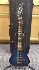 *1990 Ibanez 540S Transparent Blue Custom Electric Guitar + Hard Case Japan