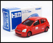 TOMICA TOYOTA VITZ POST CAR 1/57 TOMY DIECAST CAR 110 NEW (Box Damage)