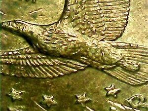 Sacagawea Dollar Error 2000 P Wounded Eagle