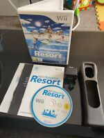 Wii Sports Resort With Black Motion Plus - Nintendo Wii/Wii U Game - COMPLETE