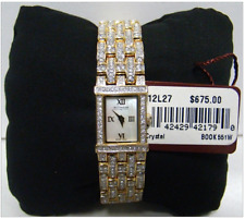 Wittnauer Swarovski Crystal Watch 12L27