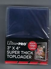 ( 40 ) Ultra Pro Super Thick 120pt Toploader Card Holders