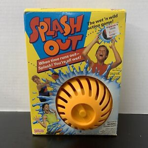 Splash Out Galoob # 7532 from 1989 new in package- box is opened- un used