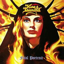 King Diamond - Fatal Portrait Vinyl LP Heavy Metal Sticker, Magnet