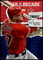 Mike Trout 2020 Topps Player of the Decade 5x7 Gold #MT-1 /10 Angels