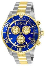 Invicta Pro Diver 47mm Blue Dial Stainless Chronograph Watch - 26851