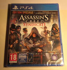 Assassin'S creed SyndicatE édition spéciale PS4 - Jeu neuf sous blister
