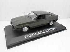 1:43 COCHE FORD CAPRI 2.8 AÑO 1981 MODEL CAR 1/43  IXO ALTAYA MINIATURA METAL